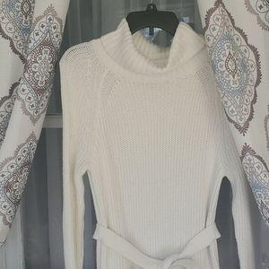 Eva Mendes Gorgeous Sweater Dress